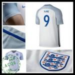 Uniforme Futebol Inglaterra Kane Euro 2016/2017 I Masculina