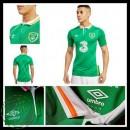 Camisa Futebol Irlanda Euro 2016/2017 I Masculina
