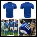 Camisas Du Futebol Itália Autêntico I Euro 2016 Masculina