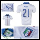 Camisa Futebol (21 Pirlo) Itália Autêntico Ii Euro 2016 Masculina
