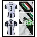 Camisas Juventus Chiellini 2016 2017 I Masculina