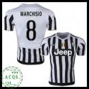Falso Camisa Du Futebol Marchisio Juventus Masculina 2015-2016 I Online Store