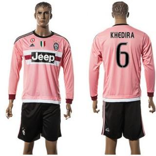 Juventus Camisa Khedira Manga Longa 2015/2016 Ii Masculina