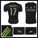 Camisetas Juventus (17 Mandzukic) 2015/2016 Iii Masculina