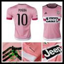 Camisas Futebol Juventus (10 Pogba) 2015-2016 Ii Masculina