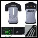 Uniforme De Futebol Juventus (1 Buffon) Goleiro 2015 2016 I Masculina