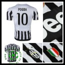 Camisas De Futebol Juventus (10 Pogba) 2015/2016 I Masculina