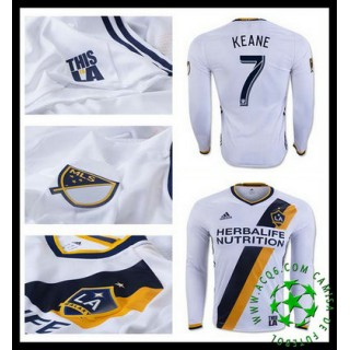 Comprar Camisas Futebol Manga Longa Keane La Galaxy Masculina 2016/2017 I Loja On-Line