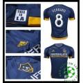 De Vendas Camisa Futebol Gerrard La Galaxy Masculina 2016 2017 Ii Loja On-Line