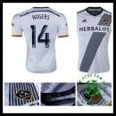 Camisas Futebol La Galaxy (14 Rogers) 2015 2016 I Masculina