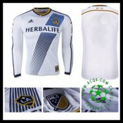 Camisa De Futebol La Galaxy Manga Longa 2015-2016 I Masculina