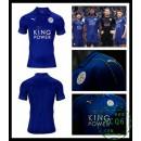 De Vendas Camisas Leicester City Masculina 2016-2017 I On-Line