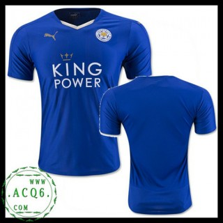 Comprar Uniformes Futebol Leicester City Masculina 2015 2016 I Loja On-Line