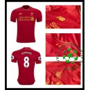 Camisetas Liverpool Gerrard 2016 2017 I Masculina
