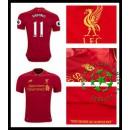 Camisa De Futebol Liverpool Firmino 2016 2017 I Masculina