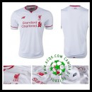Camisa Futebol Liverpool 2015 2016 Ii Masculina
