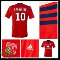 Camisa De Futebol Olympique Lyonnais Lacazette 2015/2016 Ii Masculina