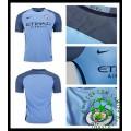 Uniforme Futebol Manchester City 2016-2017 I Masculina