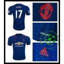 Camisa De Futebol Manchester United Blind 2016-2017 Ii Masculina