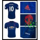Camisa Futebol Manchester United Rooney 2016 2017 Ii Masculina