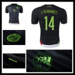 Camisa De Futebol México (14 J.Hernandez) 2015-2016 I Masculina