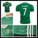 Camisetas México M. Layun 2016 2017 I Masculina