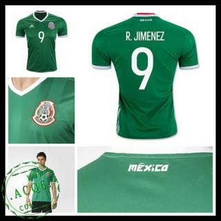 Camisas Futebol México R. Jimenez 2016/2017 I Masculina