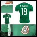 Camisa Futebol México A.Guardado 2016 2017 I Masculina