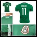 Camisas Futebol México Carlos V 2016-2017 I Masculina