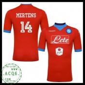 Comprar Camisa De Futebol Mertens Napoli Masculina 2015-2016 Iii Loja On-Line