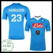 Coloração Camisas Gabbiadini Napoli Masculina 2015/2016 I Loja On-Line