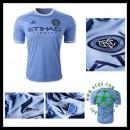 Camisas De Futebol New York City Fc 2015-2016 I Masculina