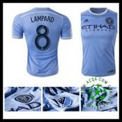Camisas New York City Fc (8 Lampard) 2015 2016 I Masculina