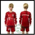 Bayern München Camisa Manga Longa 2015 2016 I Infantil