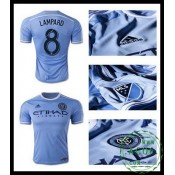 Provedor Camisa De Futebol Lampard New York City Fc Masculina 2016 2017 I Loja On-Line