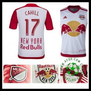 Camisa De Futebol New York Vermelho Bulls (17 Cahill) 2015 2016 I Masculina