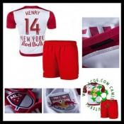 Camisa Futebol New York Vermelho Bulls (14 Henry) 2015-2016 I Infantil