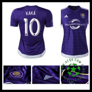 Uniforme Futebol Orlando City (10 Kaka) 2015/2016 I Feminina