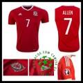 Cargas Uniformes De Futebol Allen País De Gales Masculina 2016 2017 I Online Store