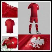 Uniforme De Futebol Polônia Euro 2016/2017 Ii Masculina