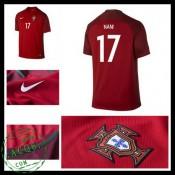 Camisas Portugal Nani Euro 2016/2017 I Masculina