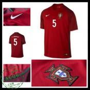 Camisa Futebol Portugal F.Coentrao Euro 2016/2017 I Masculina