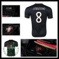 Uniforme De Futebol (8 J.Moutinho) Portugal Autêntico Ii Euro 2016 Masculina