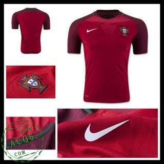 Uniforme De Futebol Portugal Euro 2016/2017 I Masculina