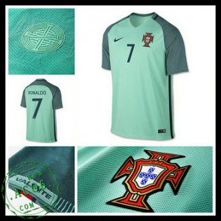Camisa Portugal Ronaldo Euro 2016/2017 Ii Masculina