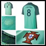 Camisas Futebol Portugal J.Moutinho Euro 2016/2017 Ii Masculina