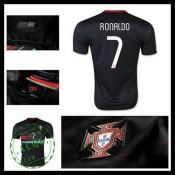 Uniformes Futebol (7 Ronaldo) Portugal Autêntico Ii Euro 2016 Masculina