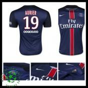 Camisa Paris Saint Germain Aurier 2015 2016 I Masculina