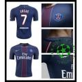Camisa Futebol Paris Saint Germain Lucas 2016-2017 I Masculina