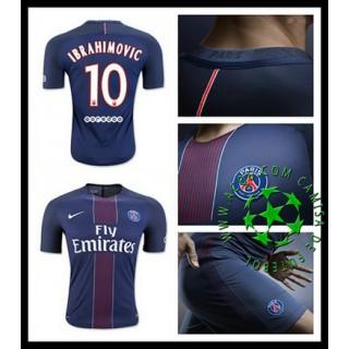 Camisas Du Futebol Paris Saint Germain Ibrahimovic 2016-2017 I Masculina